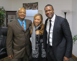 Todd Bridges, Tanya Wiley and Chris Tucker